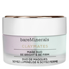 """BareMinerals ClayMates Mask Duo: Be Bright & Be Firm """" 58 g"""