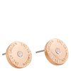 Snö Of Sweden Harly Small Earring Rosé/Clear 10mm