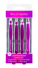 Brush Works HD Combination Tweezer Set - Purple