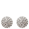 Snö of Sweden Fair Small Earring Silver/Clear