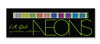 L.A. Girl Beauty Brick Eyeshadow Collection Neon GES334