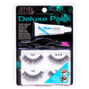 Ardell Deluxe Pack 105 Black 2 pairs + applicator + glue