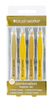 Brush Works HD Combination Tweezer Set - Gold