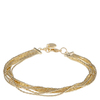 Snö Of Sweden Capella Bracelet Multistring 42 cm Gold