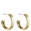 Snö of Sweden Carrie Earring Plain Gold