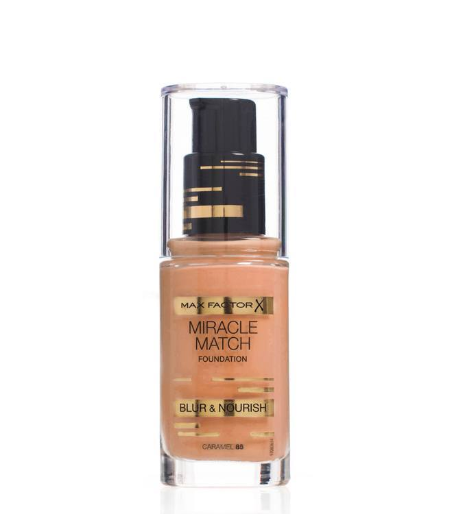 Max Factor Miracle Match Foundation Caramel 85
