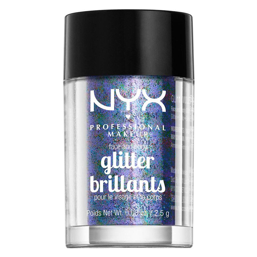 NYX Professional Makeup Face And Body Glitter Violet GLI11