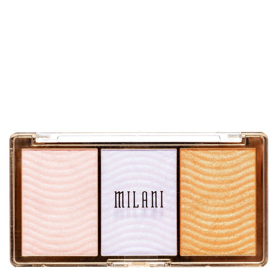 Milani Stellar Light Highlighter Palette Holographic Beams