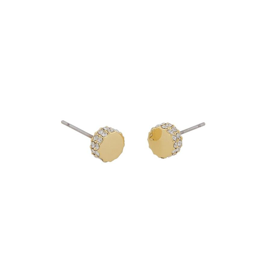 Snö Of Sweden Marly Small Earring Gold/Clear