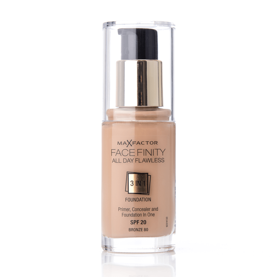 Max Factor Facefinity 3 In 1 Foundation 80 Bronze 30ml