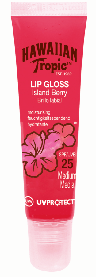 Hawaiian Tropic Lip Gloss Island Berry SF25 20 ml