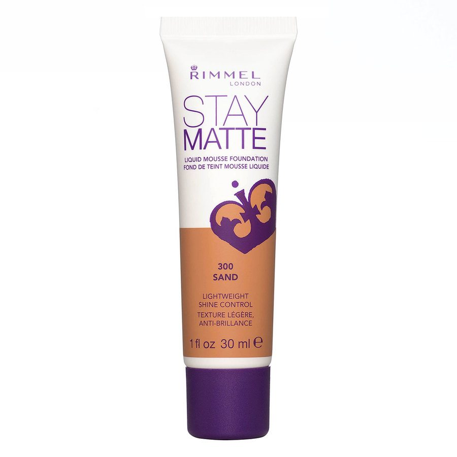 Rimmel Stay Matte Liquid Mousse Foundation Sand 300 30 ml