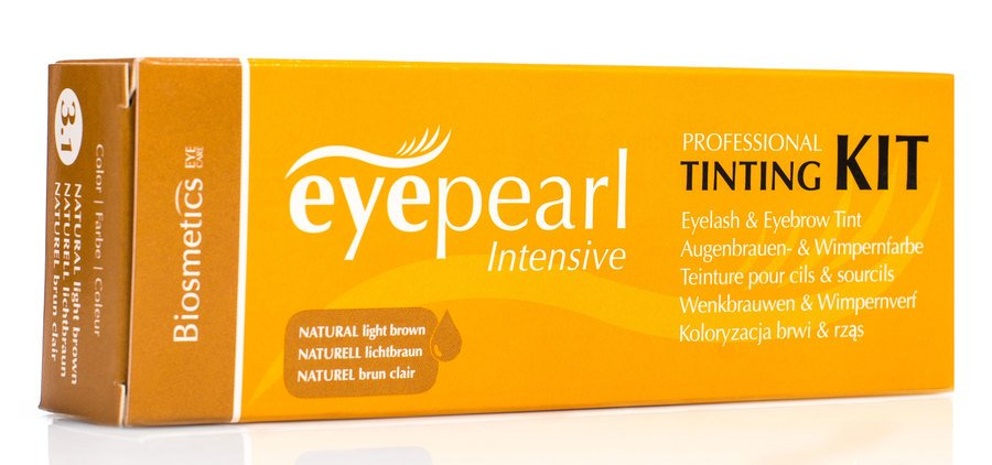 Intensive Vippe & Brynfarve Naturell Kit