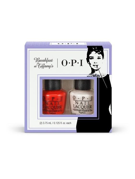 OPI Breakfast At Tiffanys Duo Pack HRH23