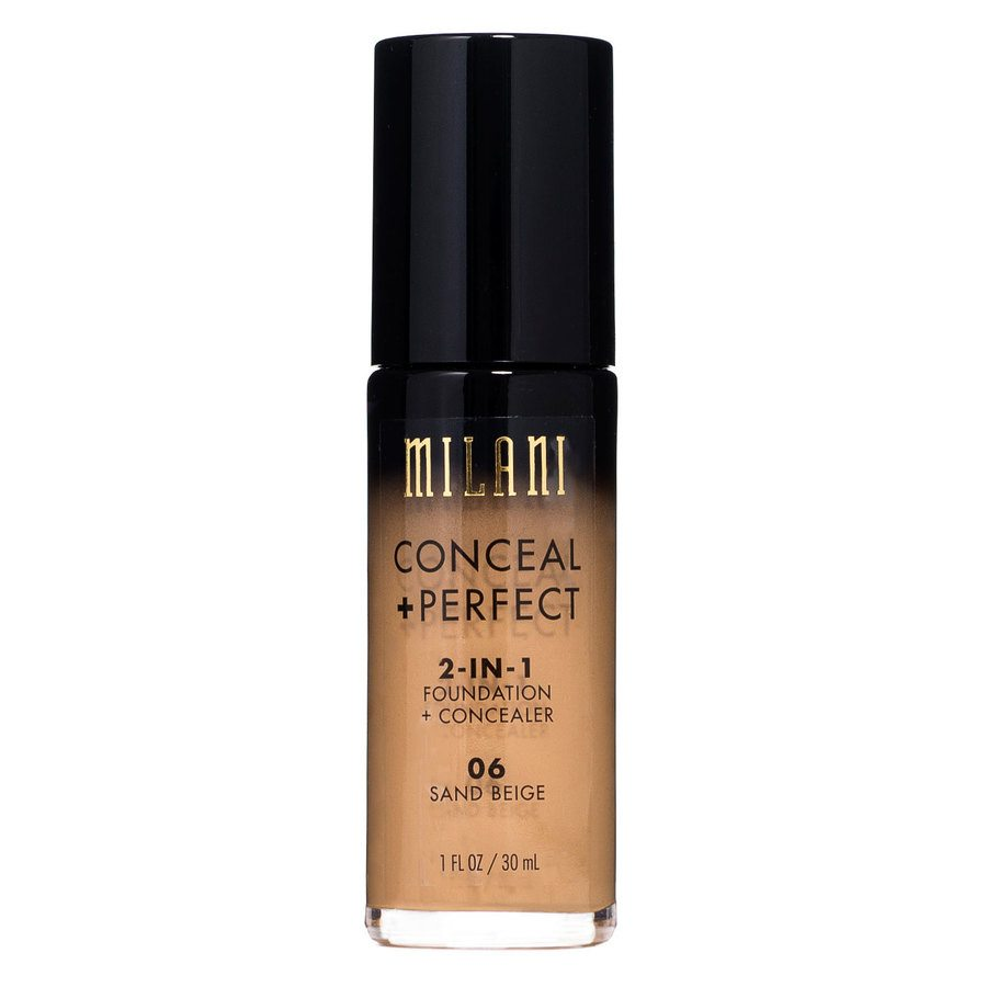 Milani Conceal & Perfect 2 In 1 Foundation + Concealer Sand Beige 30ml