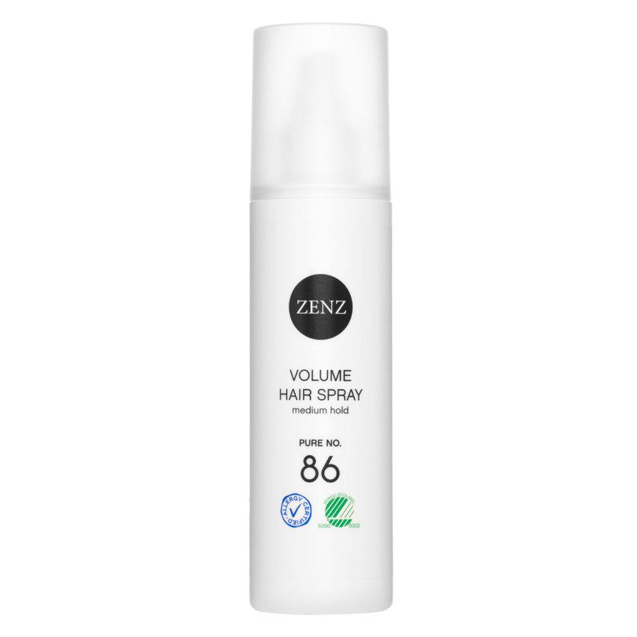 Zenz Organic No. 86 Volume Hair Spray Medium Hold Pure 200 ml