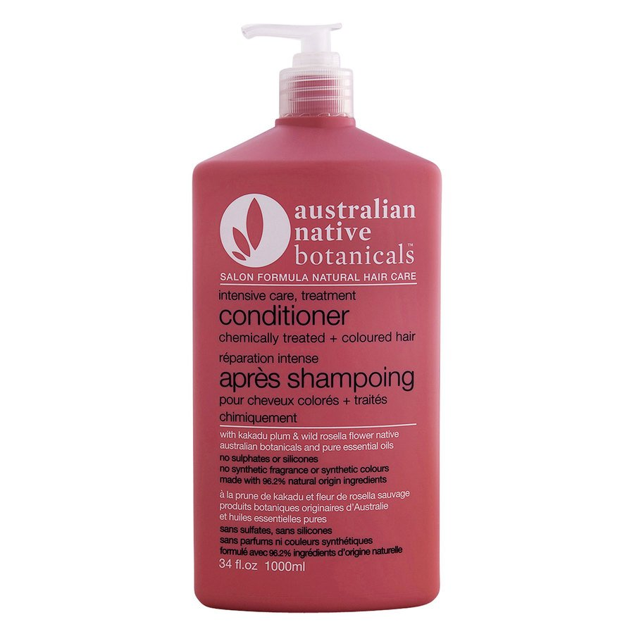 Australian Native Botanicals Conditioner For Chemically Treated & Coloured Hair 1000ml