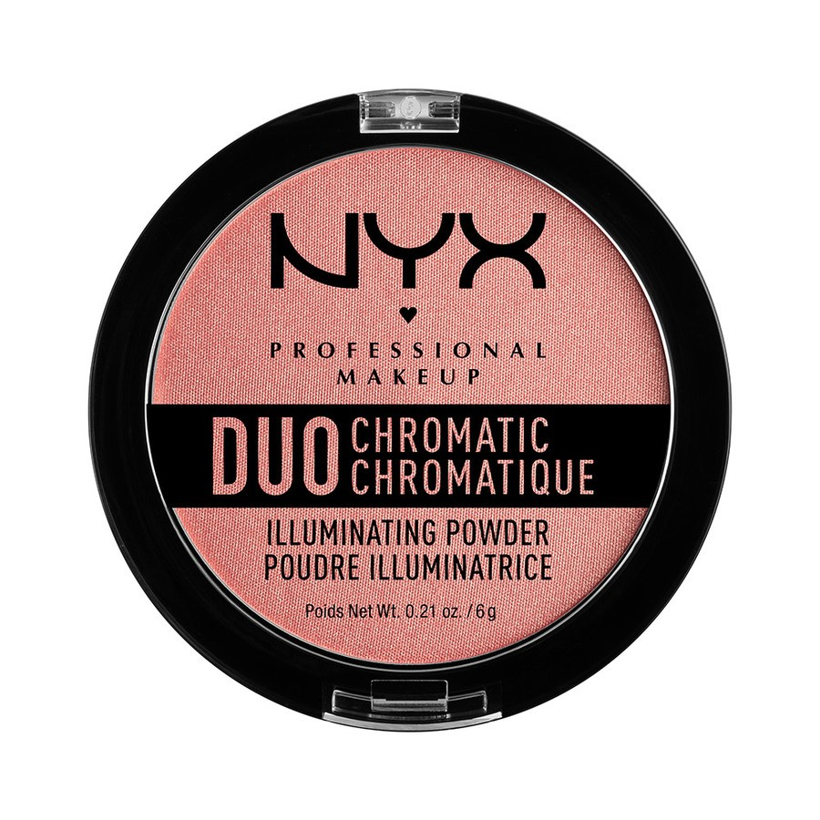 NYX Professional Makeup Duo Chromatic Illuminating Powder Crushed Bloom DCIP03