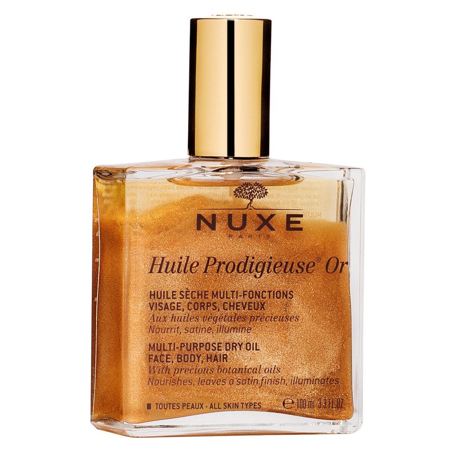 Nuxe Huile Prodigieuse OR Multi-Purpose Dry Oil Face, Body, Hair 100ml