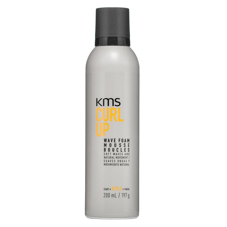 Kms Curl Up Wave Foam Mousse 200ml