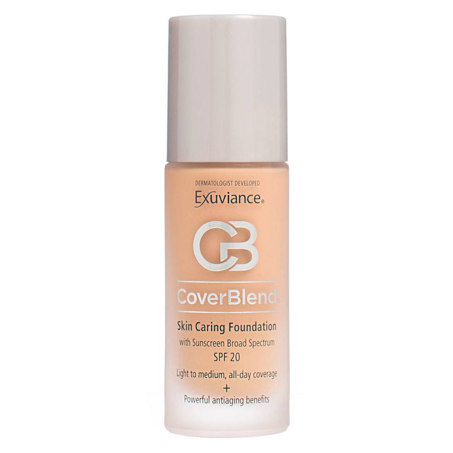 Exuviance CoverBlend Skin Caring Foundation SPF 20 Blush Beige 30ml