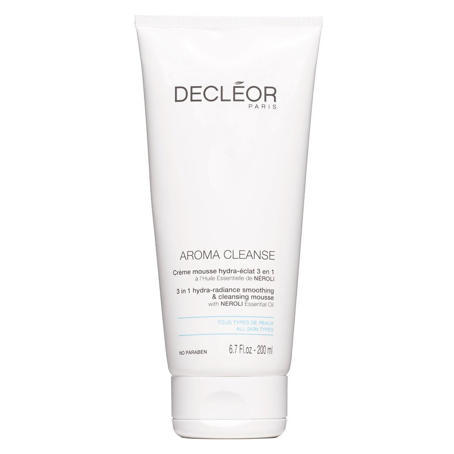 Decléor Aroma Cleanse 3 In 1 Hydra-Radiance Smoothing & Cleansing Mousse 200ml