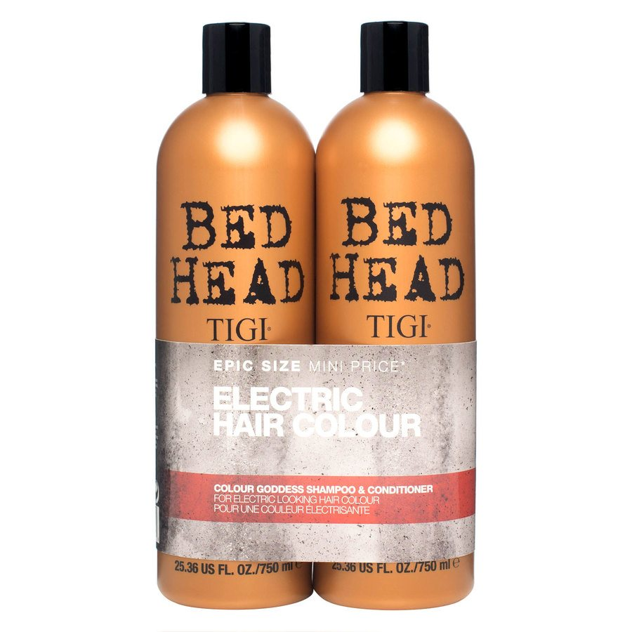 Tigi Bedhead Color Goddess Shampoo og Balsam Duo 2 x 750ml