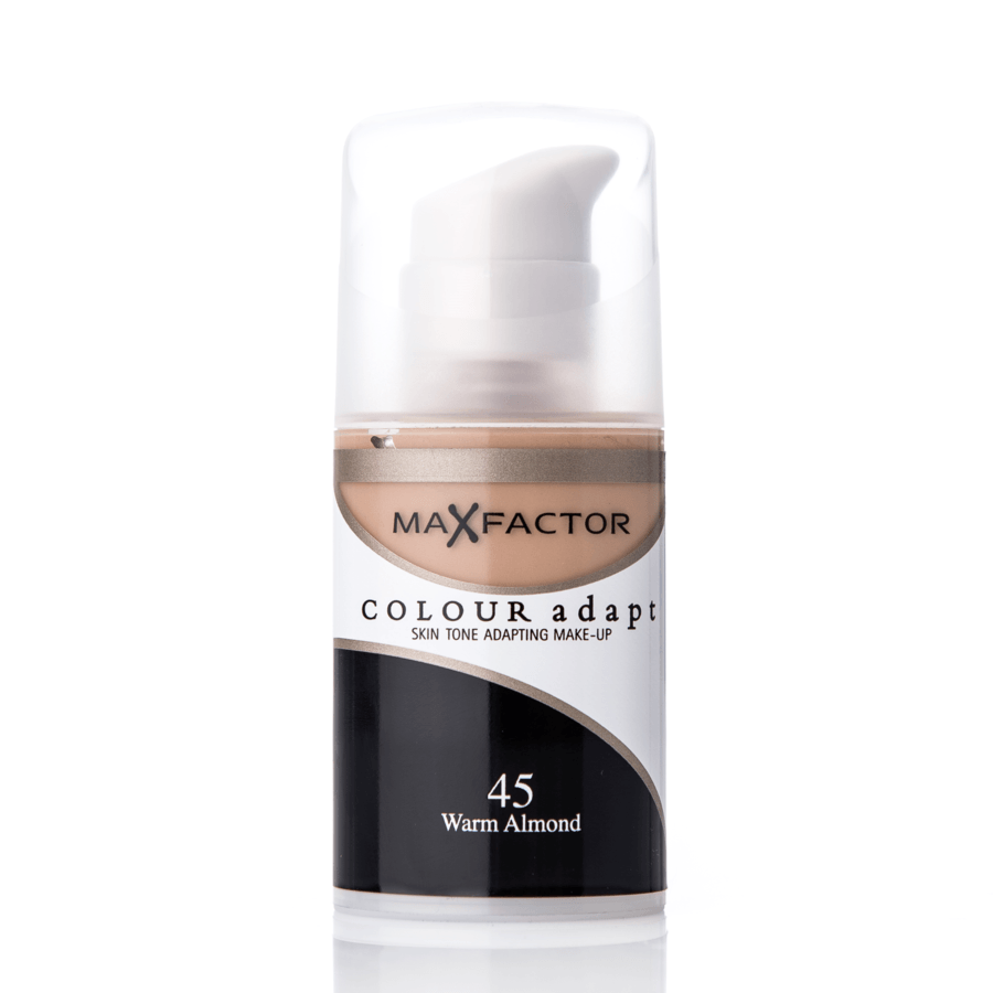 Max Factor Colour Adapt Foundation 45 Warm Almond 34ml