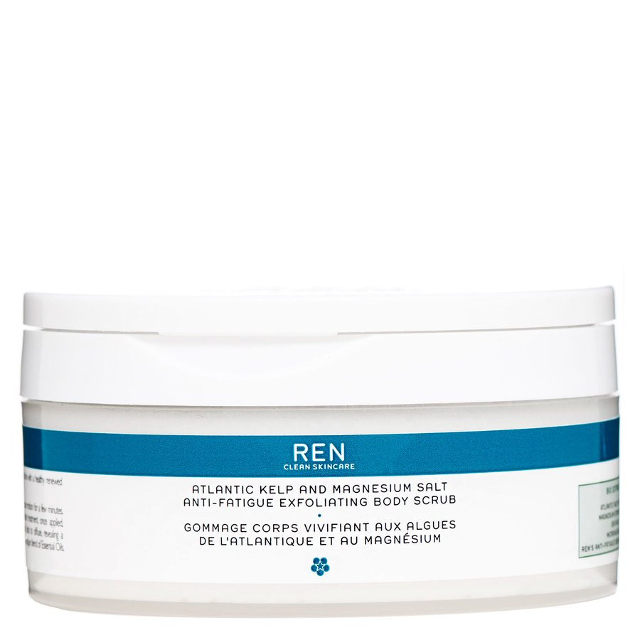 REN Atlantic Kelp And Magnesium Anti-Fatigue Body Scrub 150ml