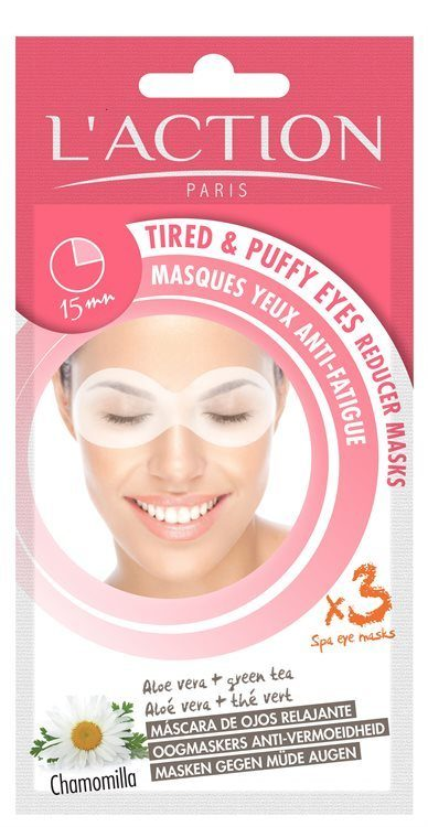 L'Action Paris Tired And Puffy Eyes Reducer Masks 8g