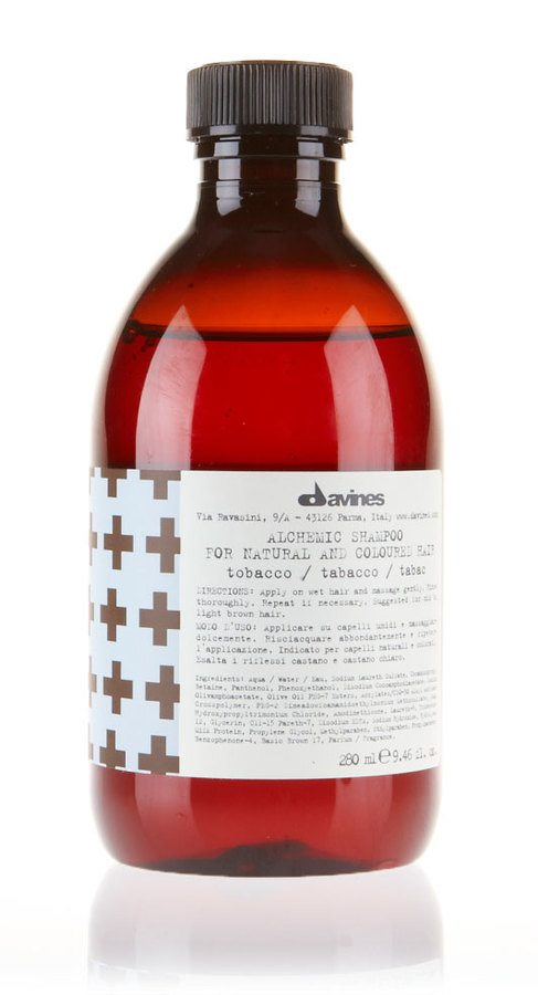 Davines Alchemic Shampoo 280ml Tobacco
