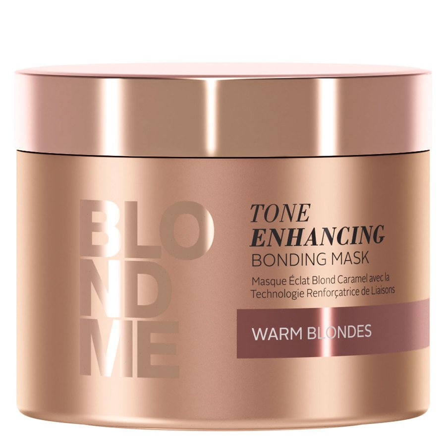 Schwarzkopf Blondme Tone Enhancing Bonding Mask Warm Blonde 200 ml