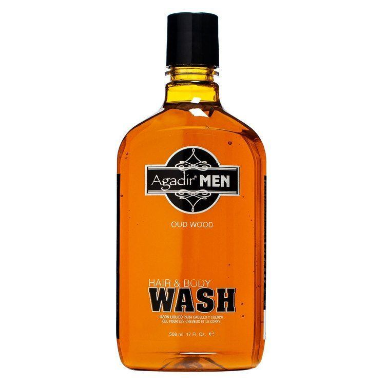 Agadir Men Oud Wood Hair & Body Wash 508ml
