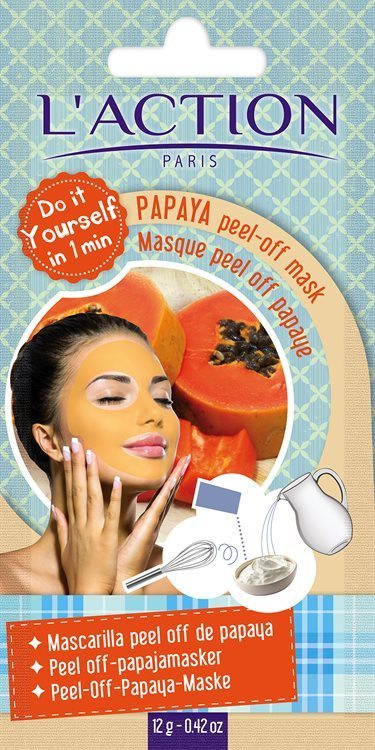 L'Action Paris Papaya Peel-Off Mask 16g