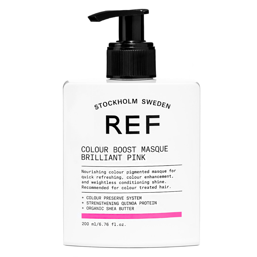REF Colour Boost Masque Brilliant Pink 200ml