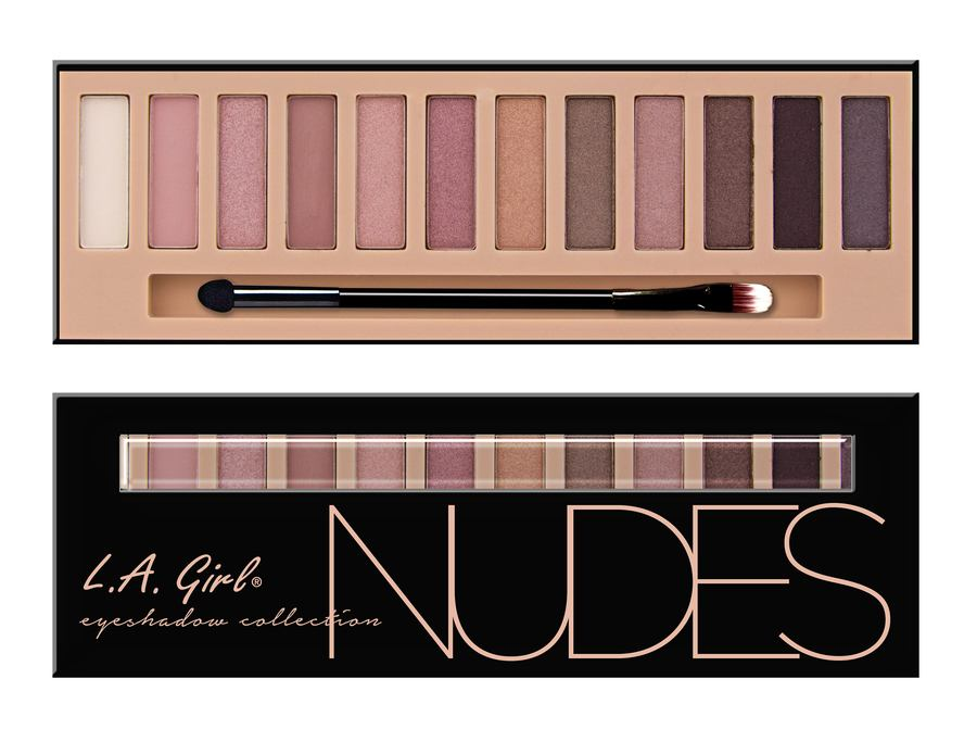 L.A. Girl Beauty Brick Eyeshadow Collection Nudes GES331
