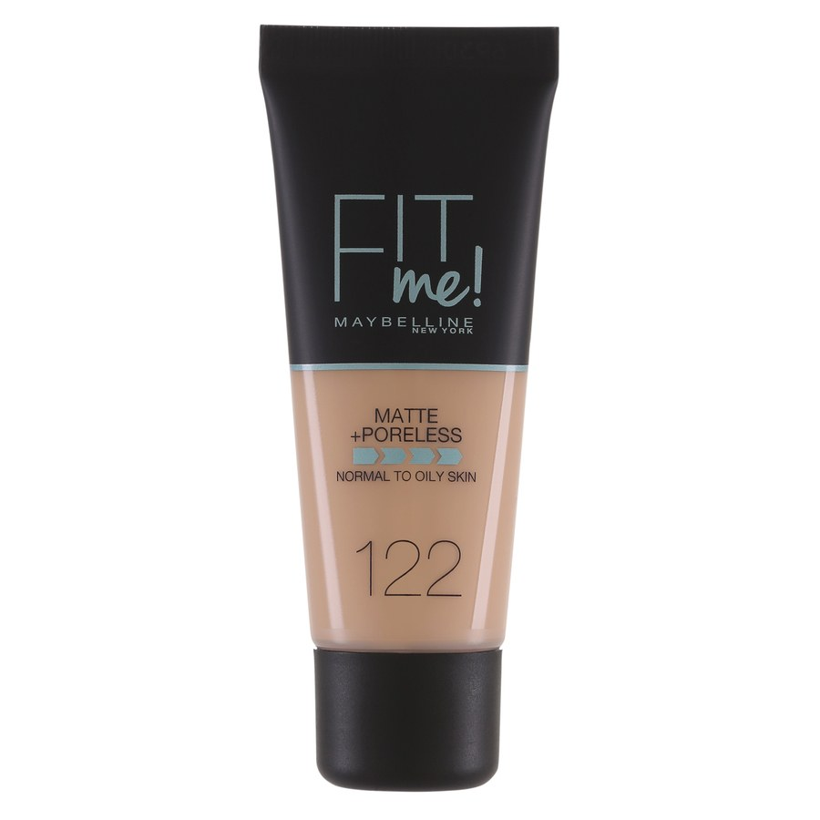 Maybelline Fit Me Makeup Matte + Poreless Foundation 122 30ml Tube
