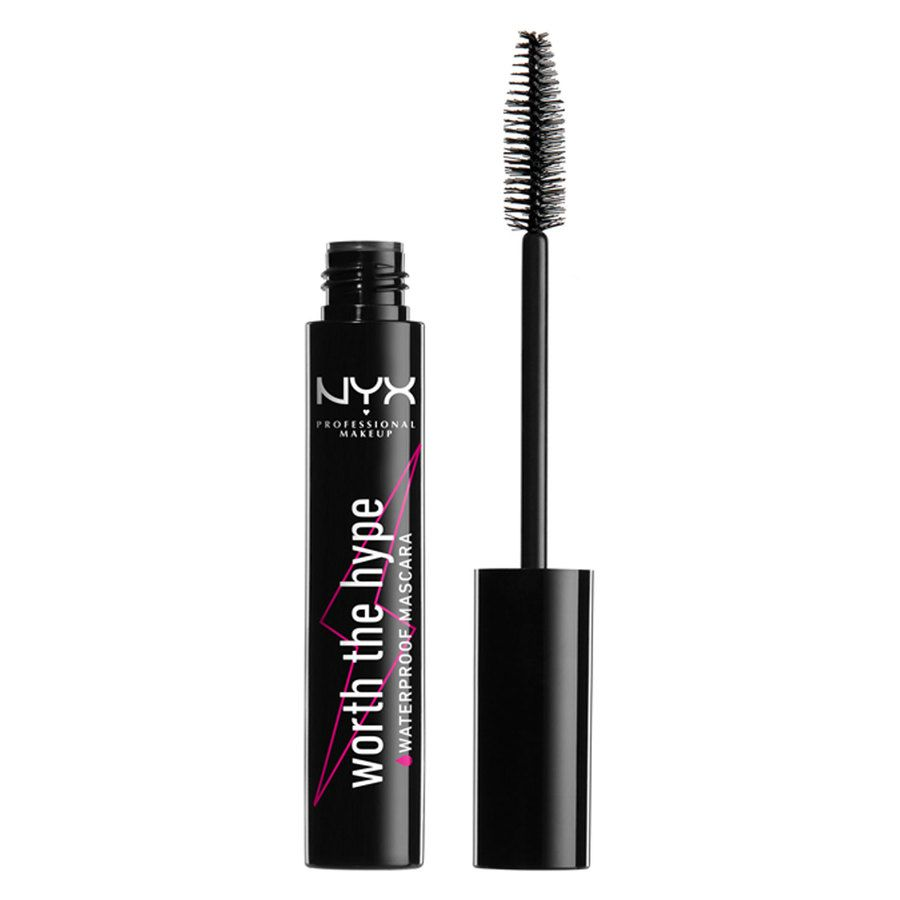NYX Professional Makeup Worth The Hype Watherproof Mascara Black 7g