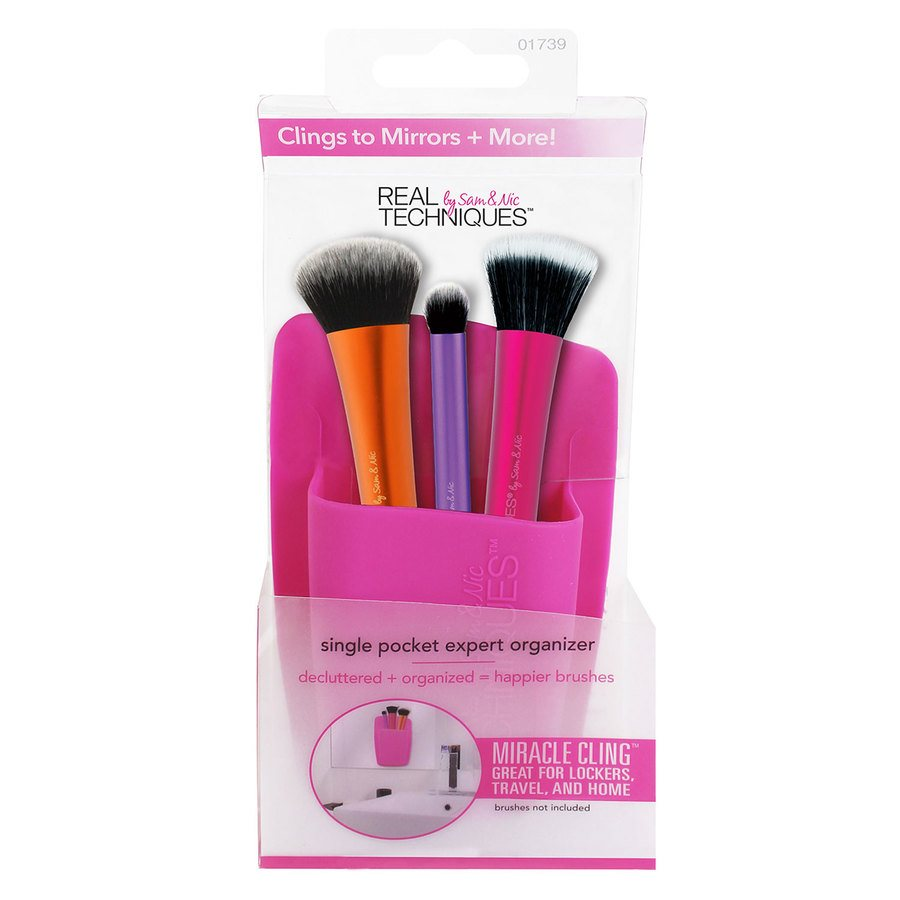Real Techniques 1 Pocket Expert Organizer Pink