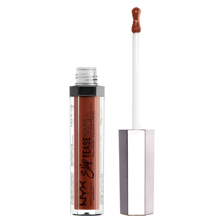 NYX Professional Makeup Slip Tease Lip Lacquer Sandalwood 3ml