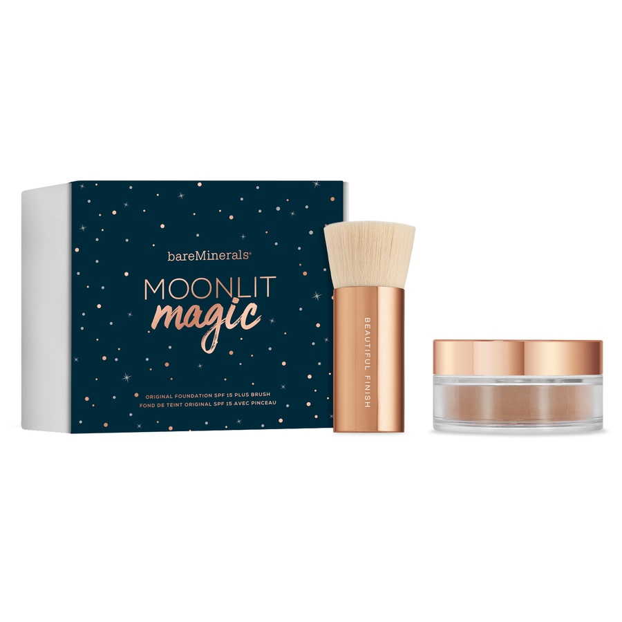 BareMinerals Moonlit Magic Original Foundation SPF15 + Brush Fairly Light