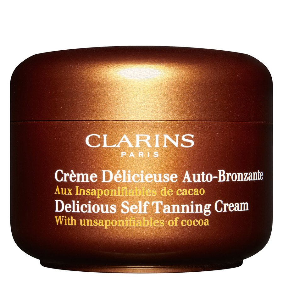 Clarins Delicious Self Tanning Cream Face And Body 150 ml