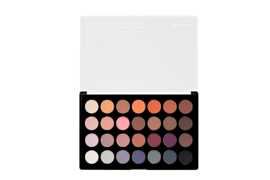 bh Cosmetics Modern Neutrals 28 Color Matte Eyeshadow Palette
