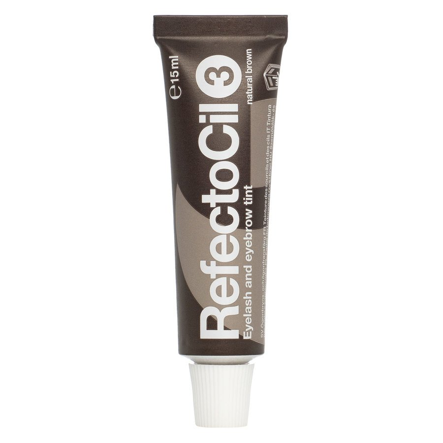 RefectoCil Eyelash & Eyebrow Tint Colours Natural Brown #3 15ml