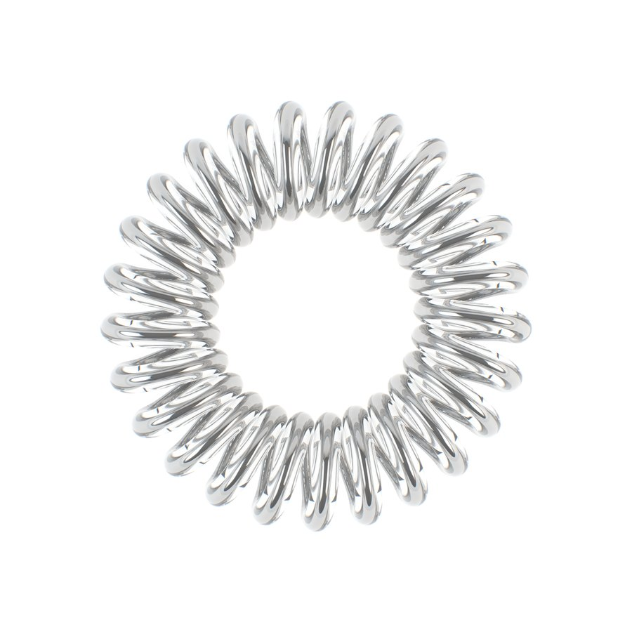 Invisibobble 3 Traceless Hair Rings Chrome Sweet Chrome