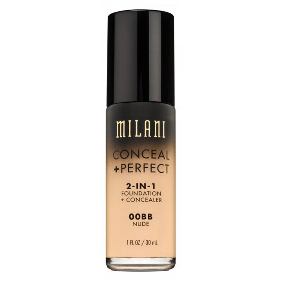 Milani Conceal & Perfect 2 In 1 Foundation + Concealer Nude 30 ml