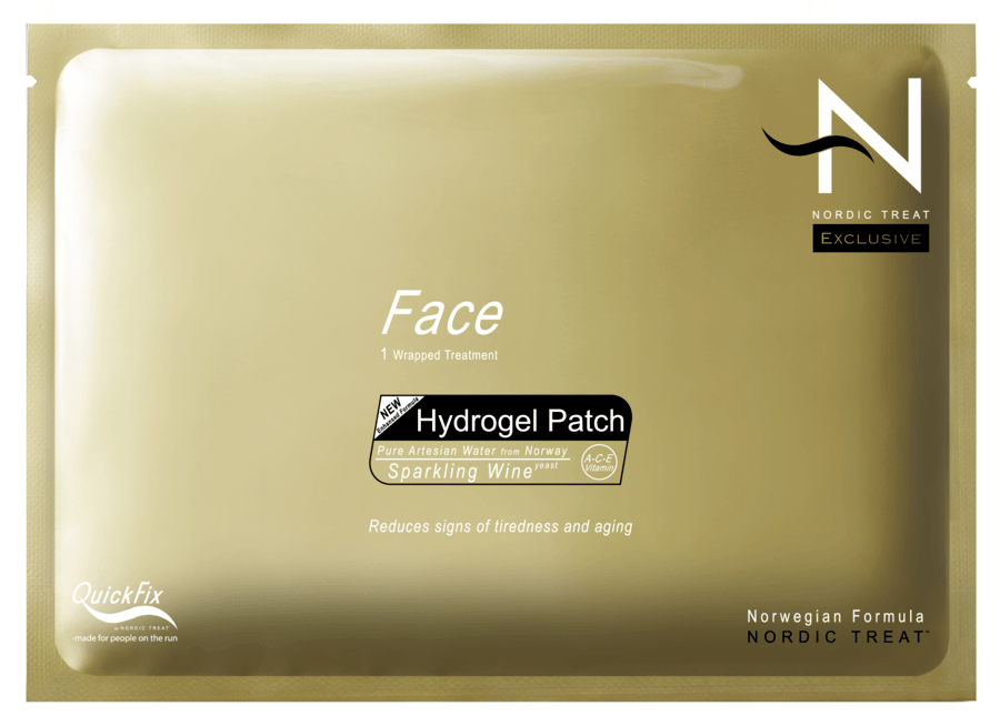 Nordic Treat Hydro Gel Face Patch Behandling