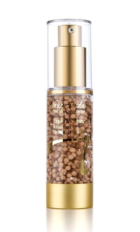 Jane Iredale Liquid Minerals Foundation Warm Silk 30ml