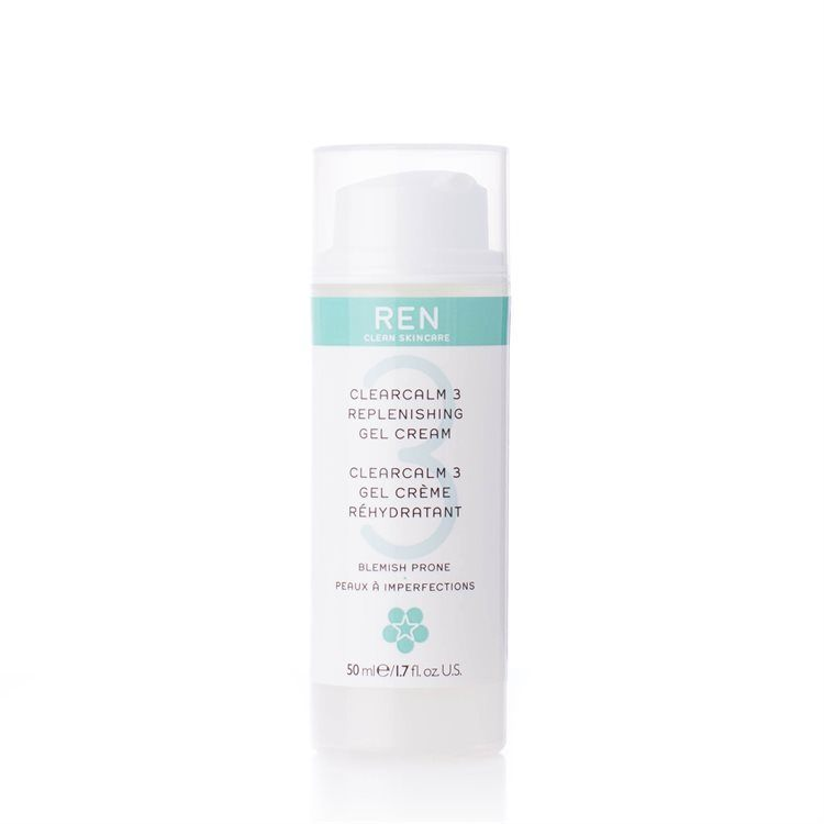 REN Clearcalm 3 Replenishing Gel Cream 50ml