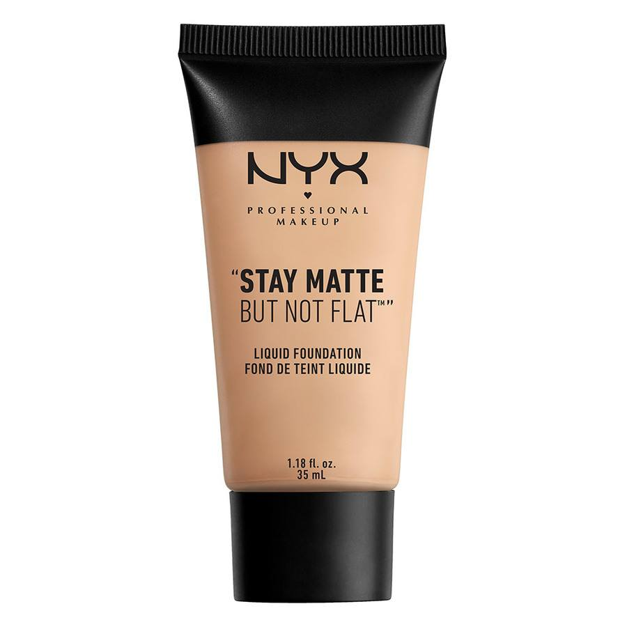 NYX Prof. Makeup Stay Matte But Not Flat Liquid Foundation Creamy Natural SMF04